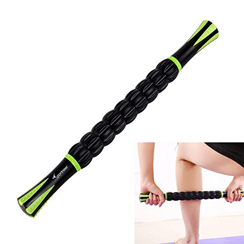 Muscle Roller Stick Sportneer Back Leg Calf Massage Sticks for Atheletes, Massager Tool for Reducing Muscle Soreness, Loosing Tightness and Soothing Cramps