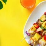 Summertime Flavors – Hawaiian Chicken Skewers with Pineapple