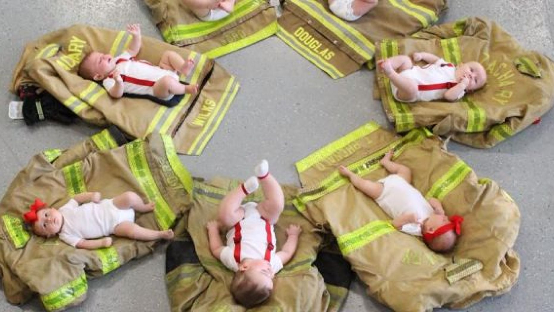 Louisiana's Zachary Fire Department announced its crew welcomed seven babies during the last 11 months.