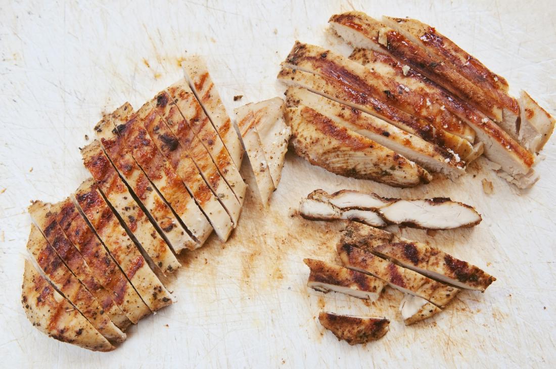 grilled skinless chicken