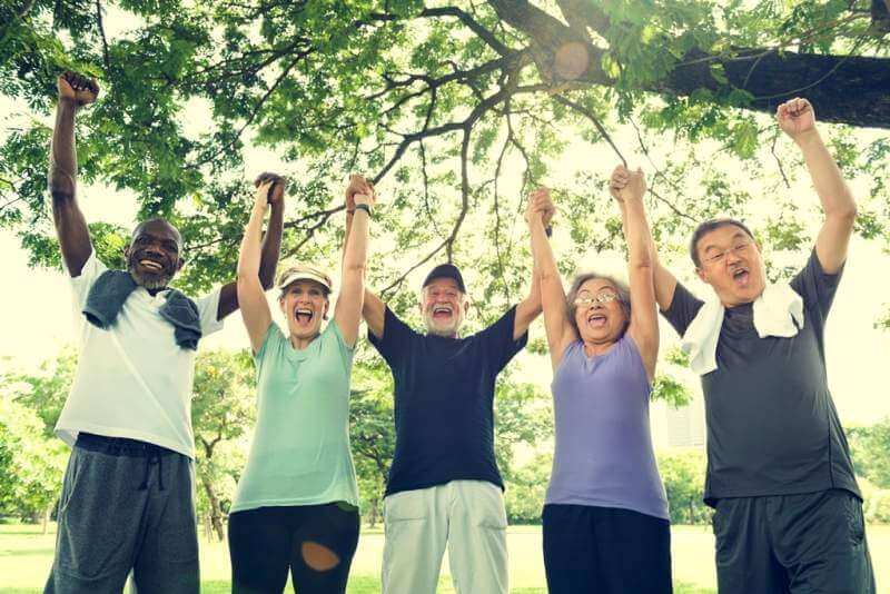 senior-group-friends-exercise-relax-concept