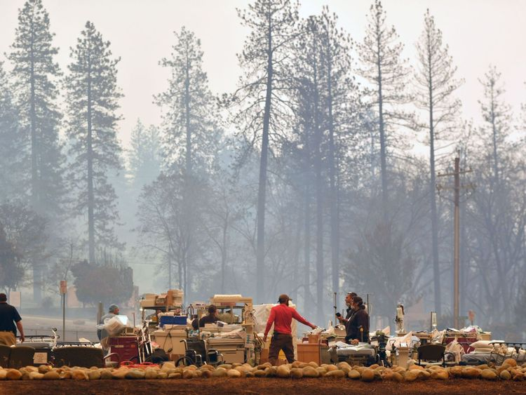 Feather River Hospital, near Paradise, was in the path of the fire