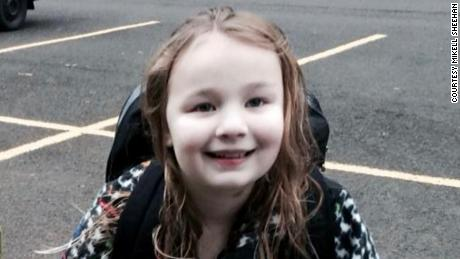 Bailey Sheehan was diagnosed with AFM after her mother disagreed with an initial diagnosis.