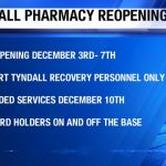 Tyndall Pharmacy Reopening – My Panhandle