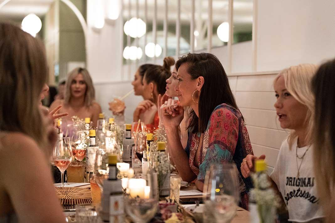 table for 12 dinner series