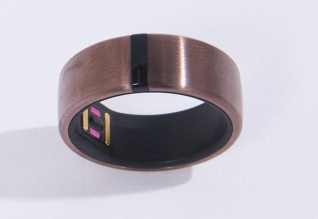 Motiv smart ring, £199.99, mymotiv.com