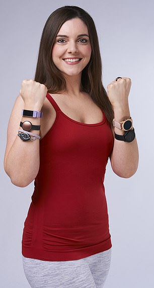 How do you find a wearable that works for you? LIBBY GALVIN (pictured) put seven devices to the test, and based on my experience and Dr Sanders' comments, then rated them.