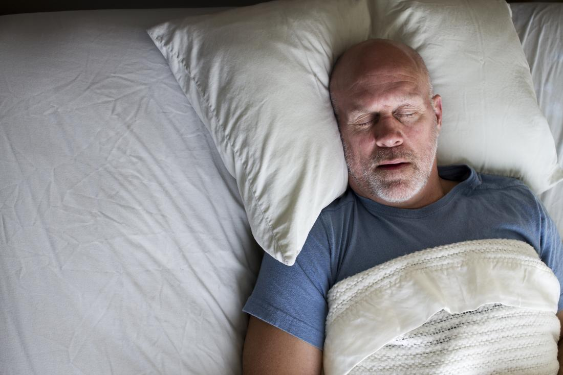 A person in the early stages of Parkinson's might experience a range of sleep problems.