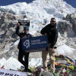 The Travel Blogger Hiking Everest To Help Cancer Survivors
