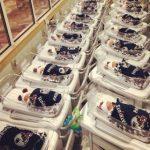 Baby-sized Patriots blankets, pom-pom hats given to newborns at Massachusetts hospital