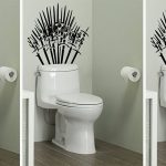 Turn Your Toilet Into the Iron Throne With This 'Game of Thrones' Decal