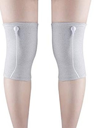The manufacturer of the Conductive Tens knee sleeve claims the combination of compression and electrical nerve stimulation will relieve pain and reduce swelling for those with arthritis or after surgery
