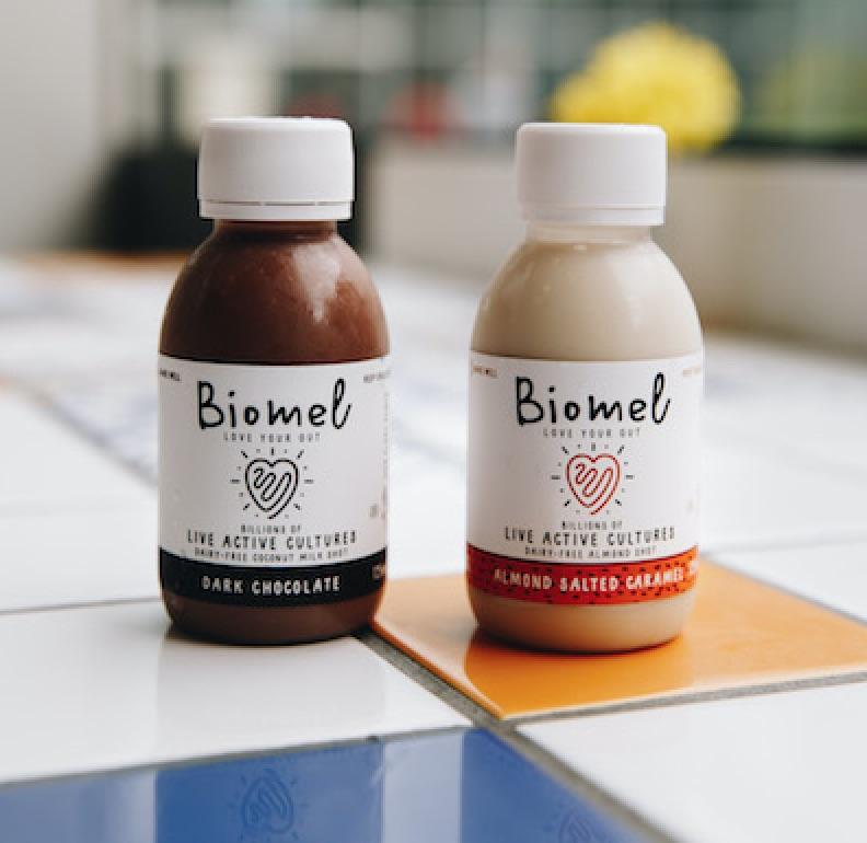 Biomel drinks dairy-free probiotic drink body image