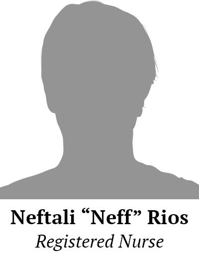 """Neftali """"Neff"""" Rios"""
