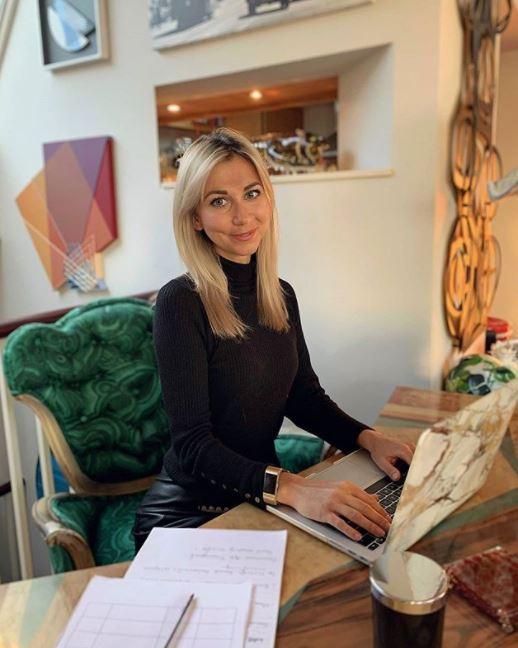Clarissa Lenherr working from home productivity