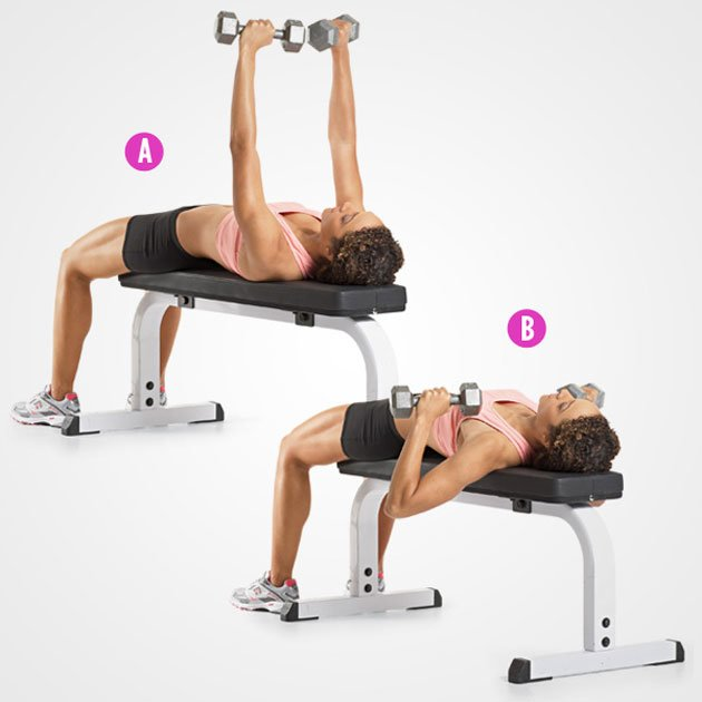Dumbbell Bench Presses