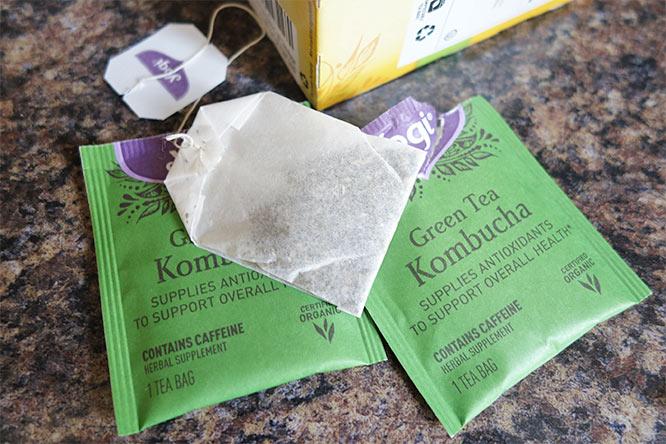 Yogi Green Tea Kombucha - tea bag