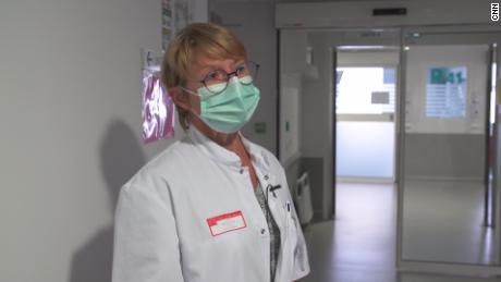 Dr. Catherine Fleureau says it will be hard to cope with treating coronavirus patients alongside those with other conditions.